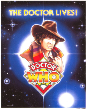Fourth Doctor Poster (18' x 23')