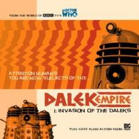 Dalek Empire 1.1 Invasion of the Daleks CD