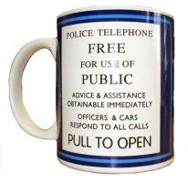 Call Box Mug Memorabilia