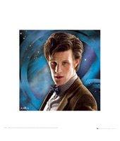 Eleventh Doctor Art Print Memorabilia