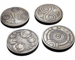Gallifreyan Coasters Memorabilia