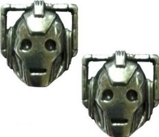 Earrings Cyberman Memorabilia