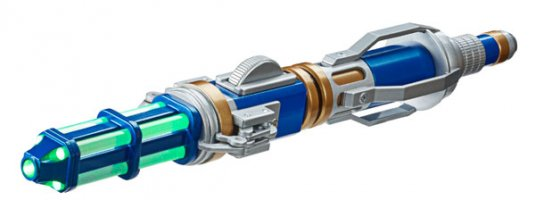 12th Doctor New Sonic Screwdriver Memorabilia