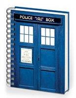 TARDIS Note book Memorabilia