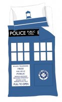 Single Duvet Set TARDIS Design Other