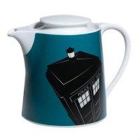 TARDIS Teapot Cassette